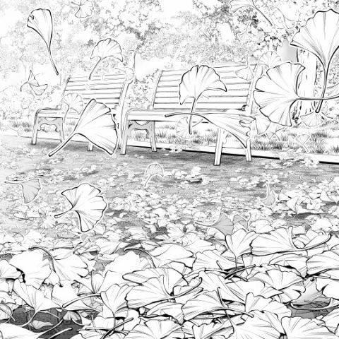 イチョウ落ち葉サムネ